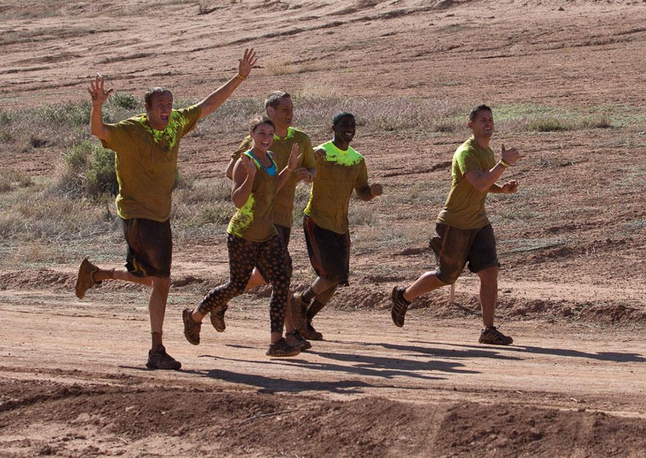 Hurricane Mud Run loves teams